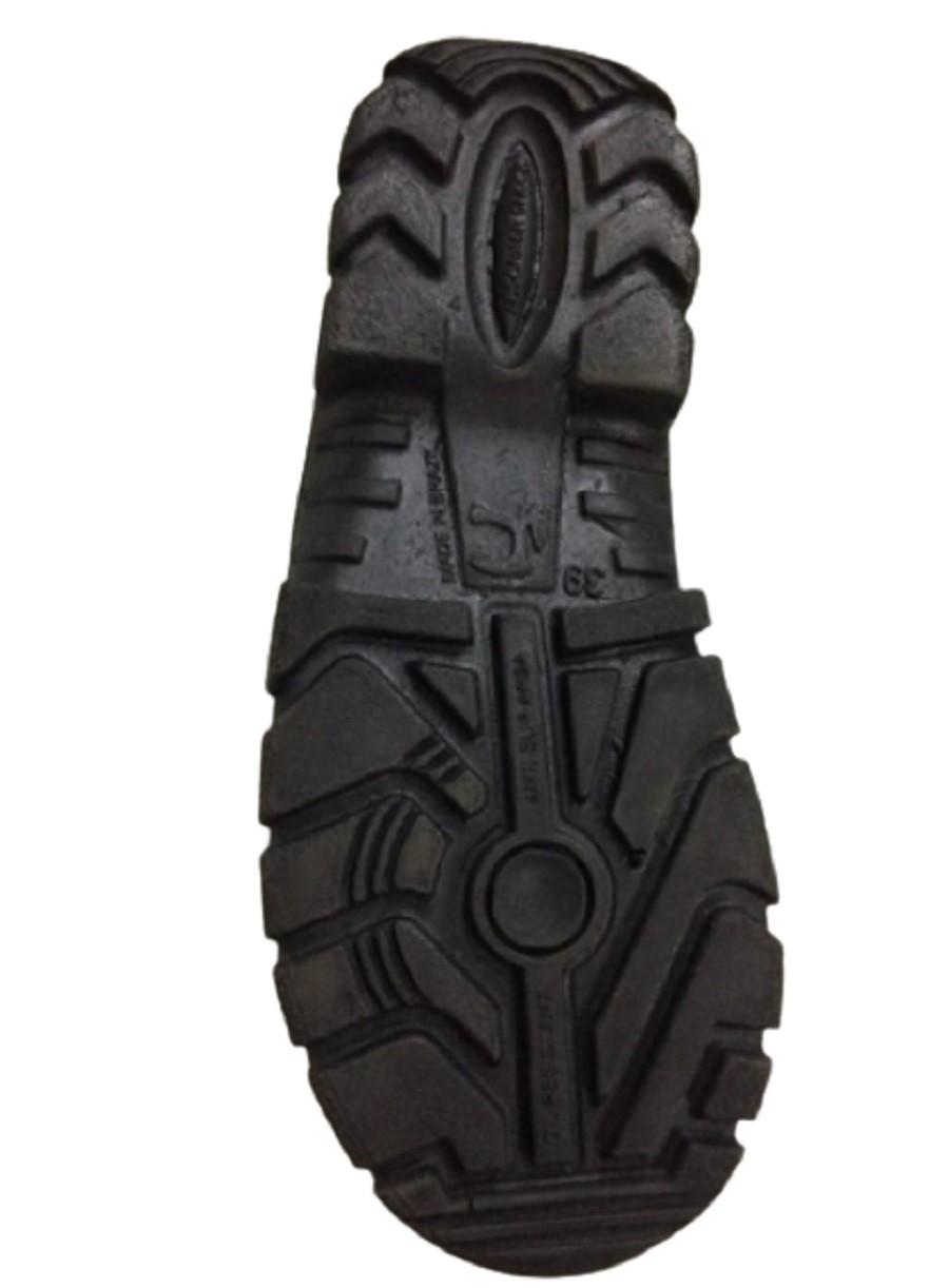 Botina Mono Pé De Ferro Sem Bico Ca41104