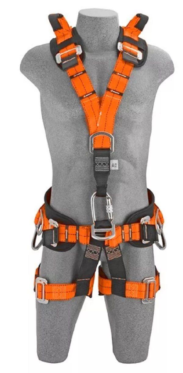 Cinto 7 Pontos Paraquedista Altura Resgate Espaço Confinado