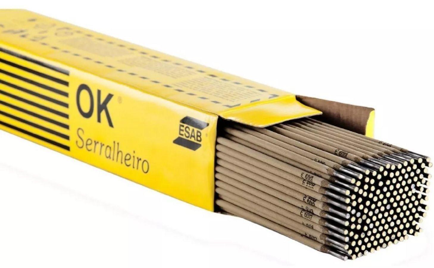 Eletrodo Esab Ok Serralheiro 2,50mm 5kg 301673
