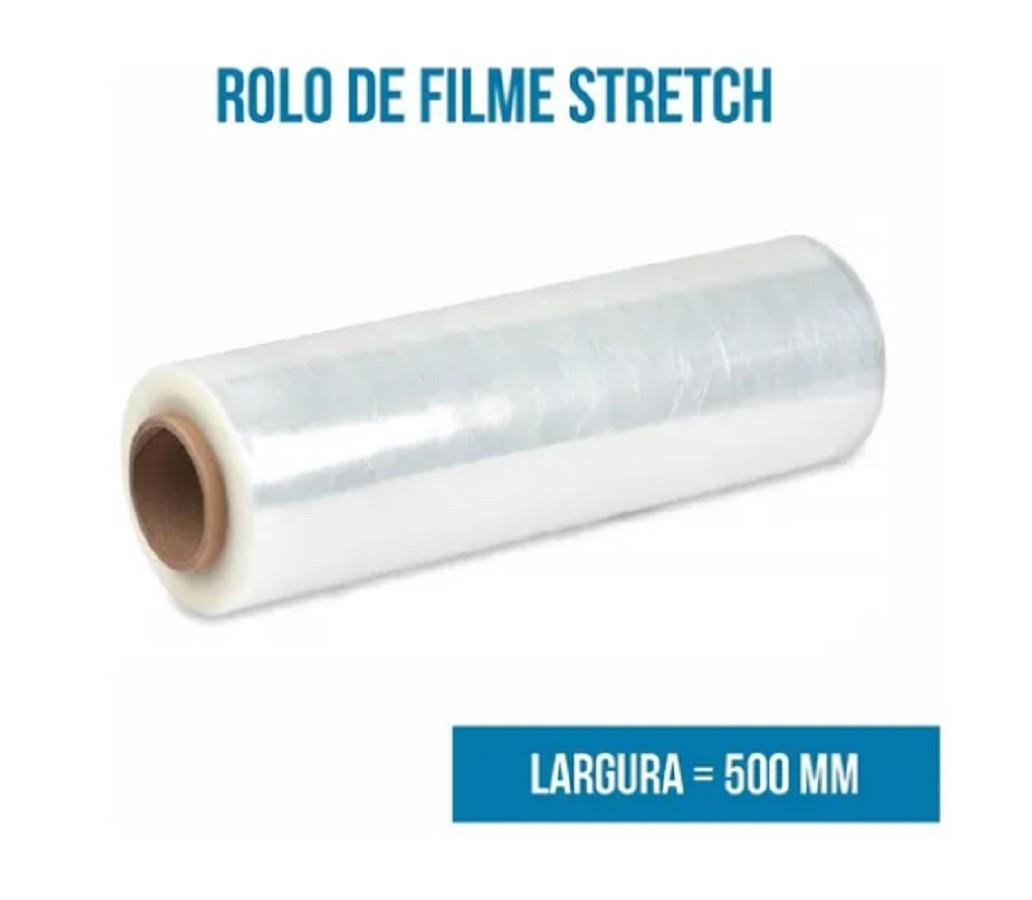 Filme Stretch Manual 500X0,25 Bobina 3,5Kg