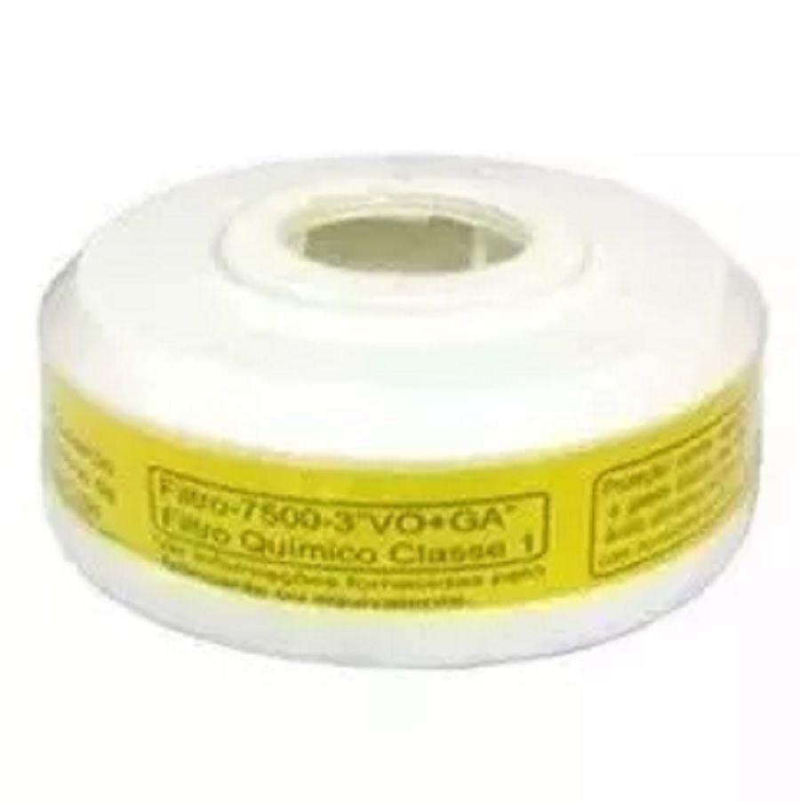Filtro Químico P/ Vapores Orgânicos E Ácidos Vo+ga Plastcor