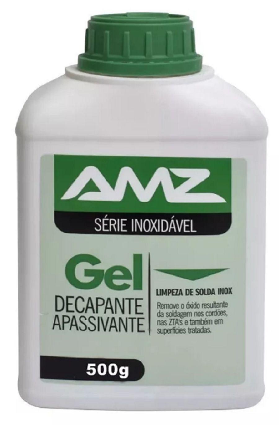 Gel Decapante para solda Amazônia Limpa Inox 500g
