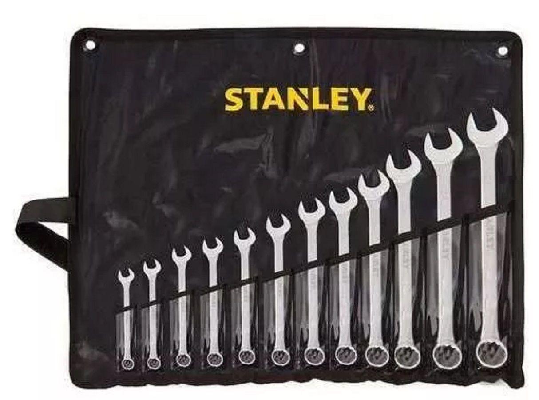 Jogo de Chave Combinada Stanley 12 pçs de 6 a 22mm