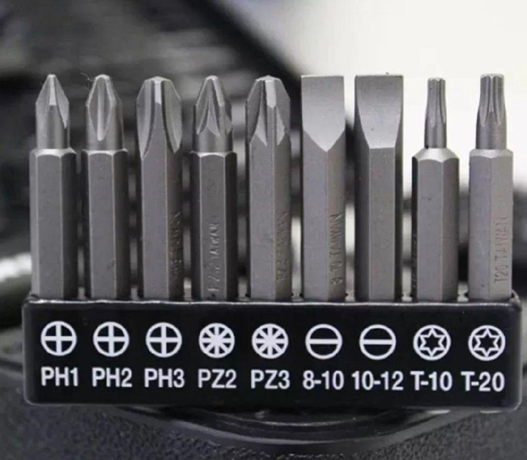 Kit 67 peças Intercambiáveis Brocas Bits Soquetes
