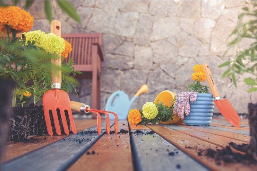 Kit de Ferramentas Jardinagem Tramontina 78100