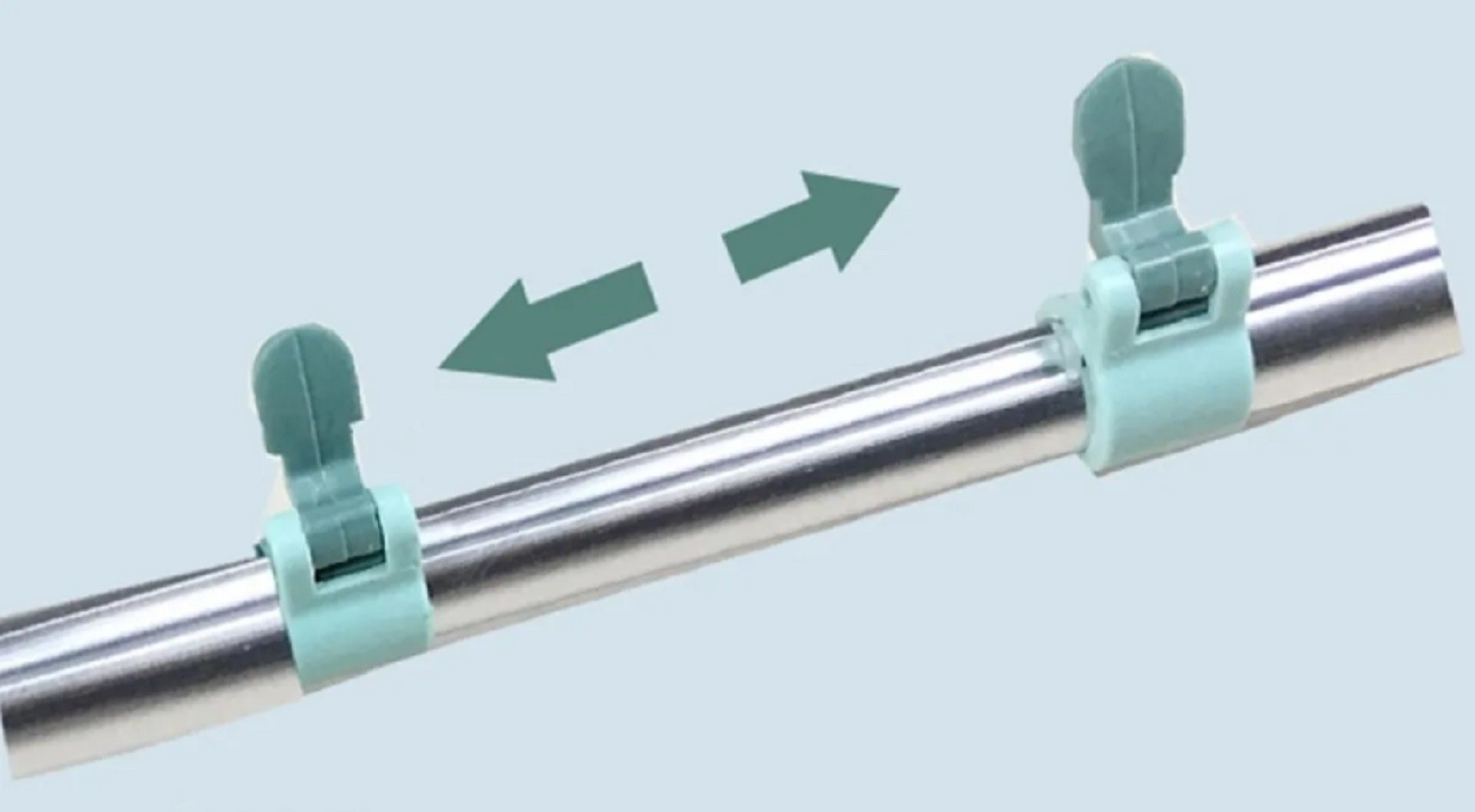 Limpa vidros articulado Telescópico com rodo Mop