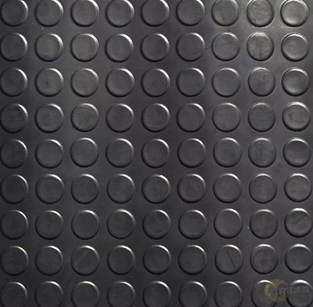 Piso De Borracha Moeda pastilhado Placa 50x50cm