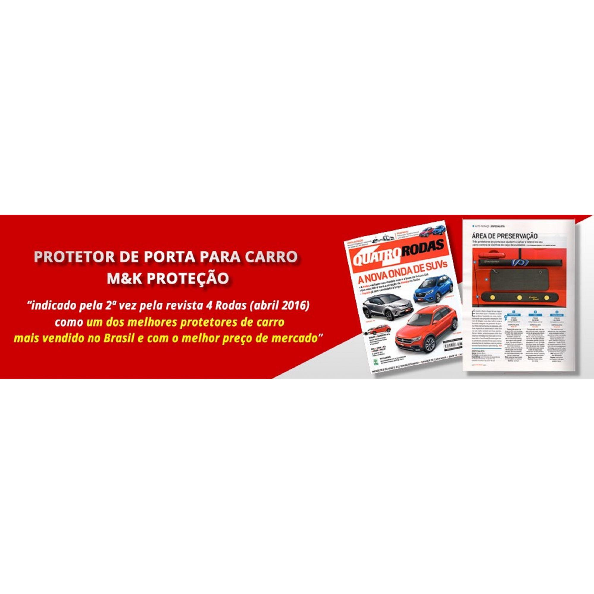 Proteção Protetor Lateral / Porta Carro C/cabo Imã P/ Auto