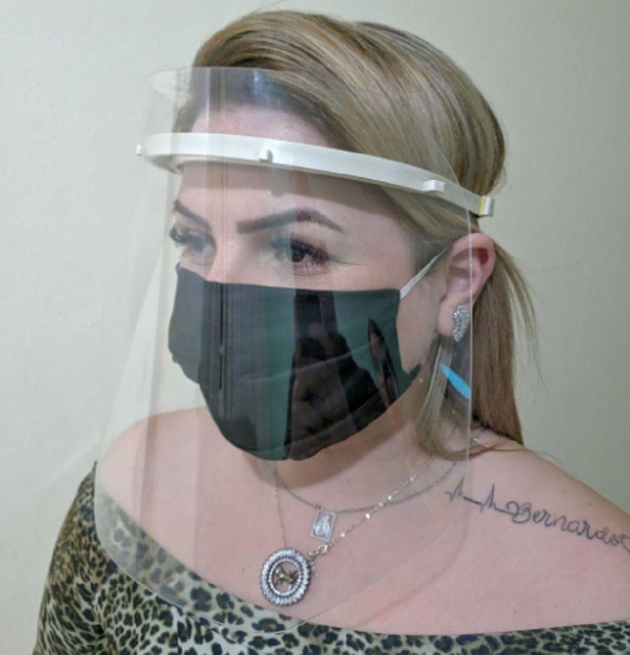 Protetor Facial Hospital Dentista