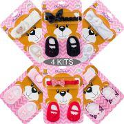 KIT 4 Conjuntos Bebês Charminho