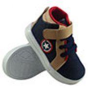 Tênis Sneakers Infantil Cano longo Capitão