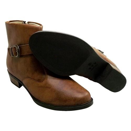 b8201f7ba Itra - Distribuidora de Calçados. Bota Coturno Feminina Sem Salto