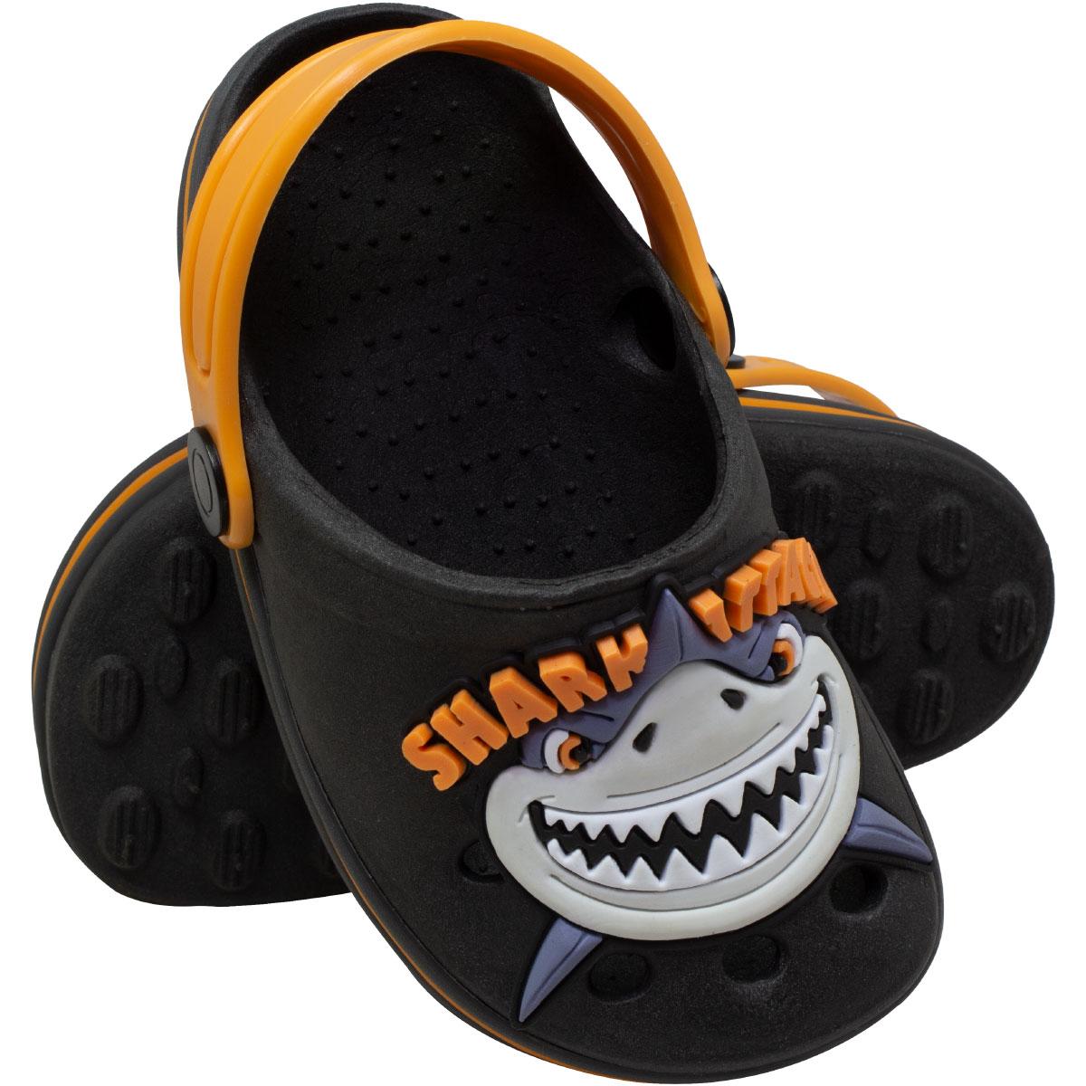 Babuche Masculino Infantil (F. Listrada) (E.G)  Tubarão Shak