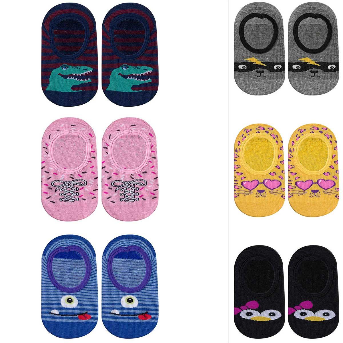 Kit 03 pares de Meia Play Socks