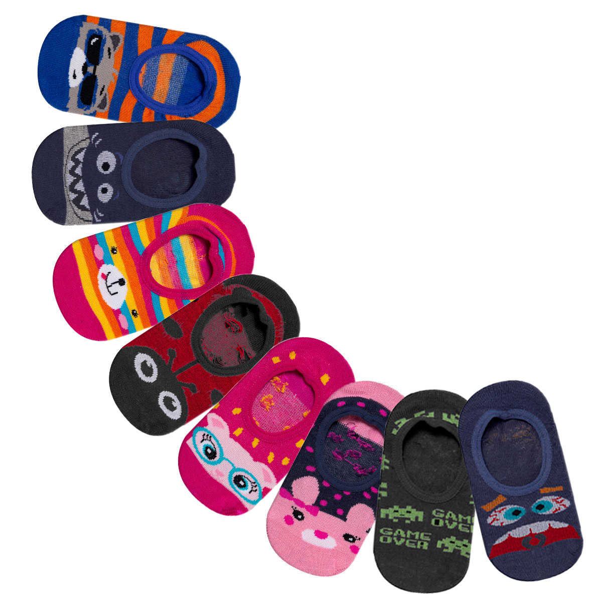 Kit 03 pares de Meia Play Socks