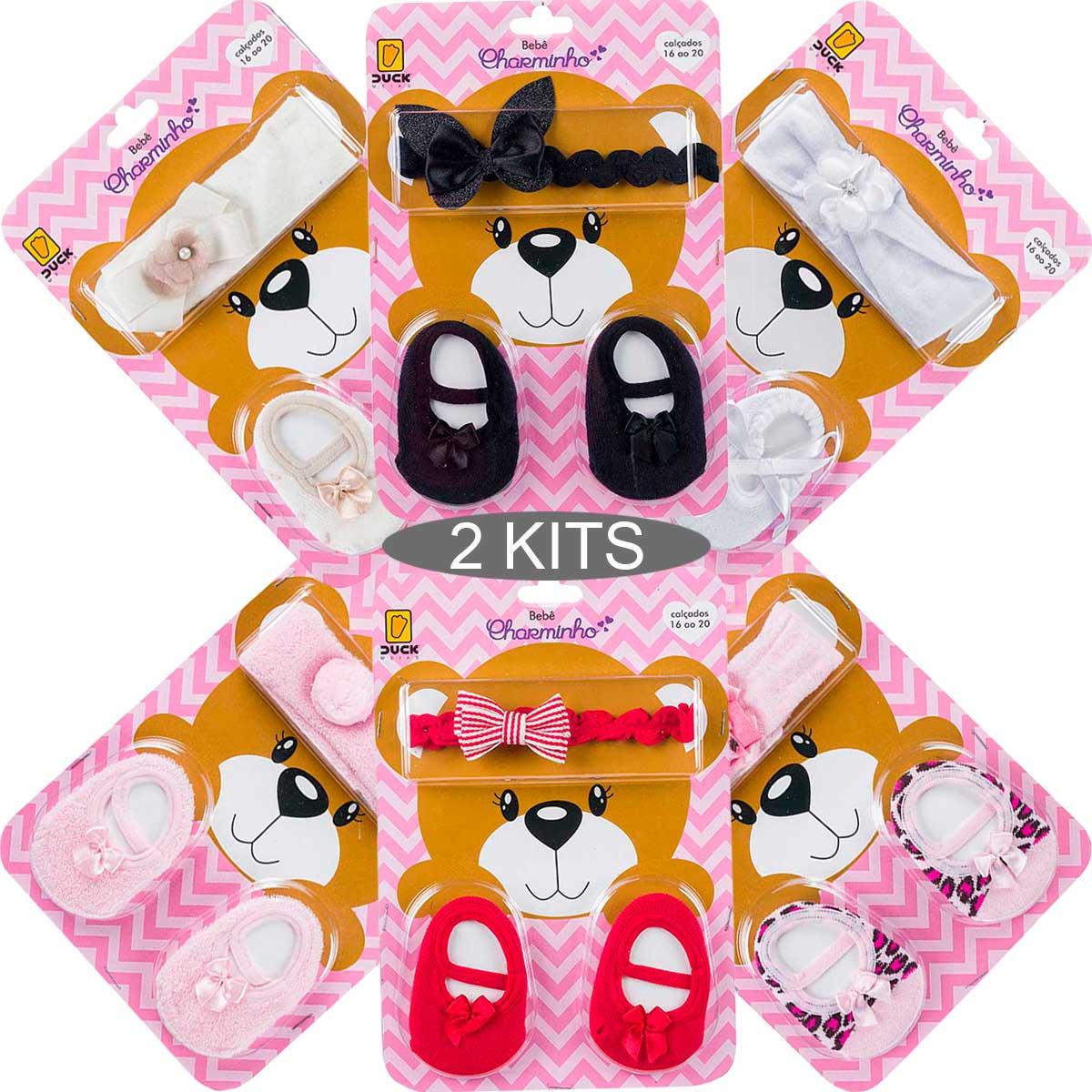 KIT 2 Conjuntos Bebês Charminho