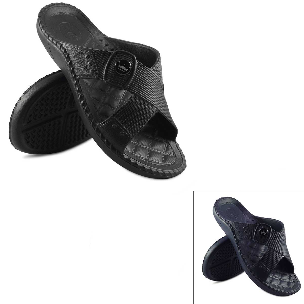 Chinelo Cruzada Masculina King Adulto