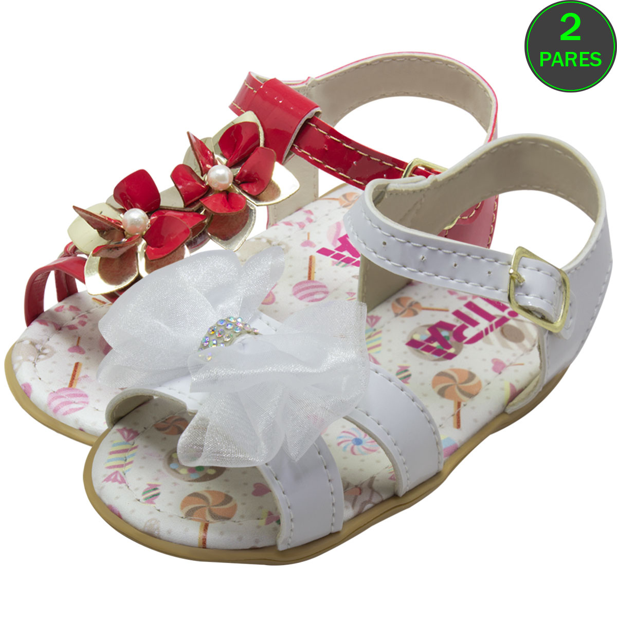 Sandália Infantil Bebê  012-10-01