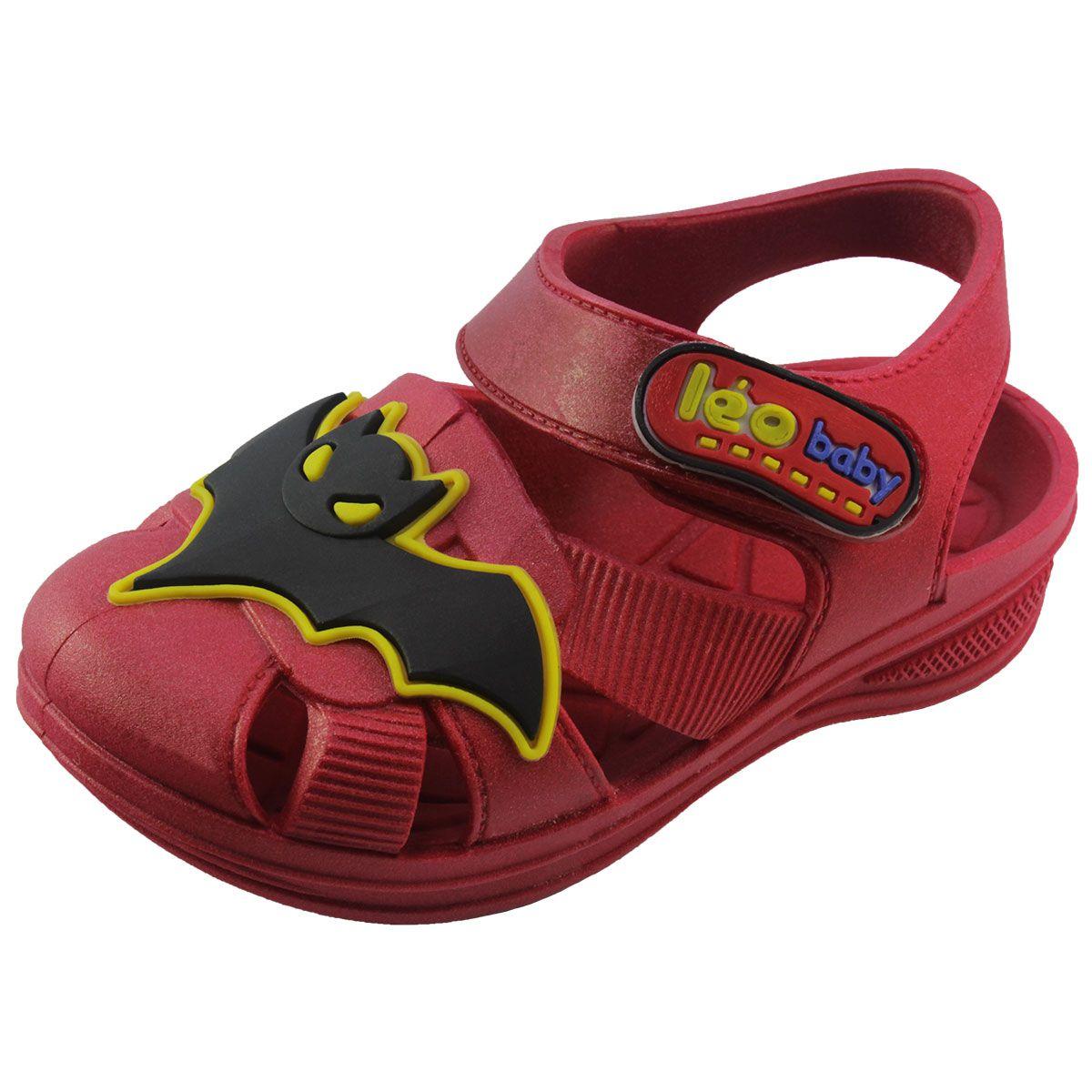 Sandália Masculina Infantil Bat Morcego