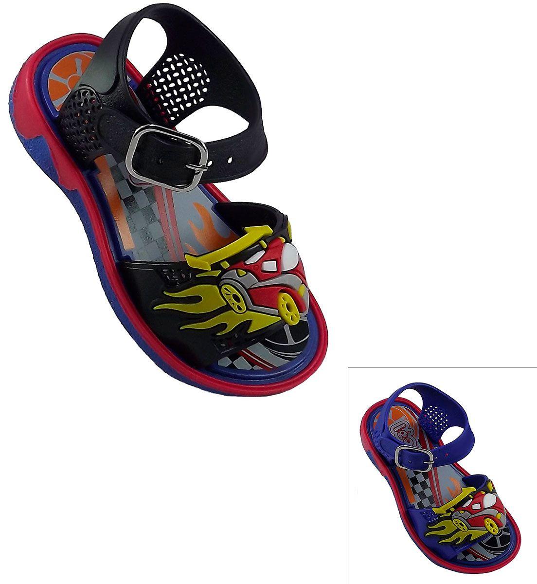 Sandália Super Carros Infantil
