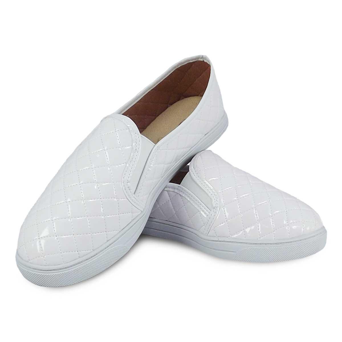 bfa82f6ed9 Itra - Distribuidora de Calçados. Sapatenis Iate Sola Branca