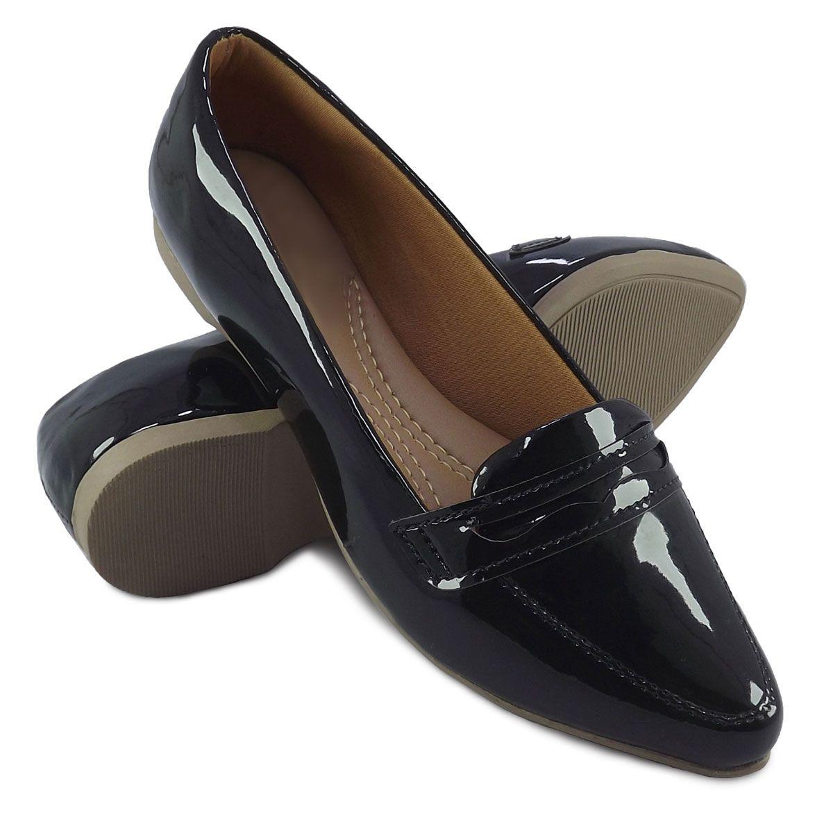 8e059b35ca Itra - Distribuidora de Calçados. Sapato Mocassim Feminino
