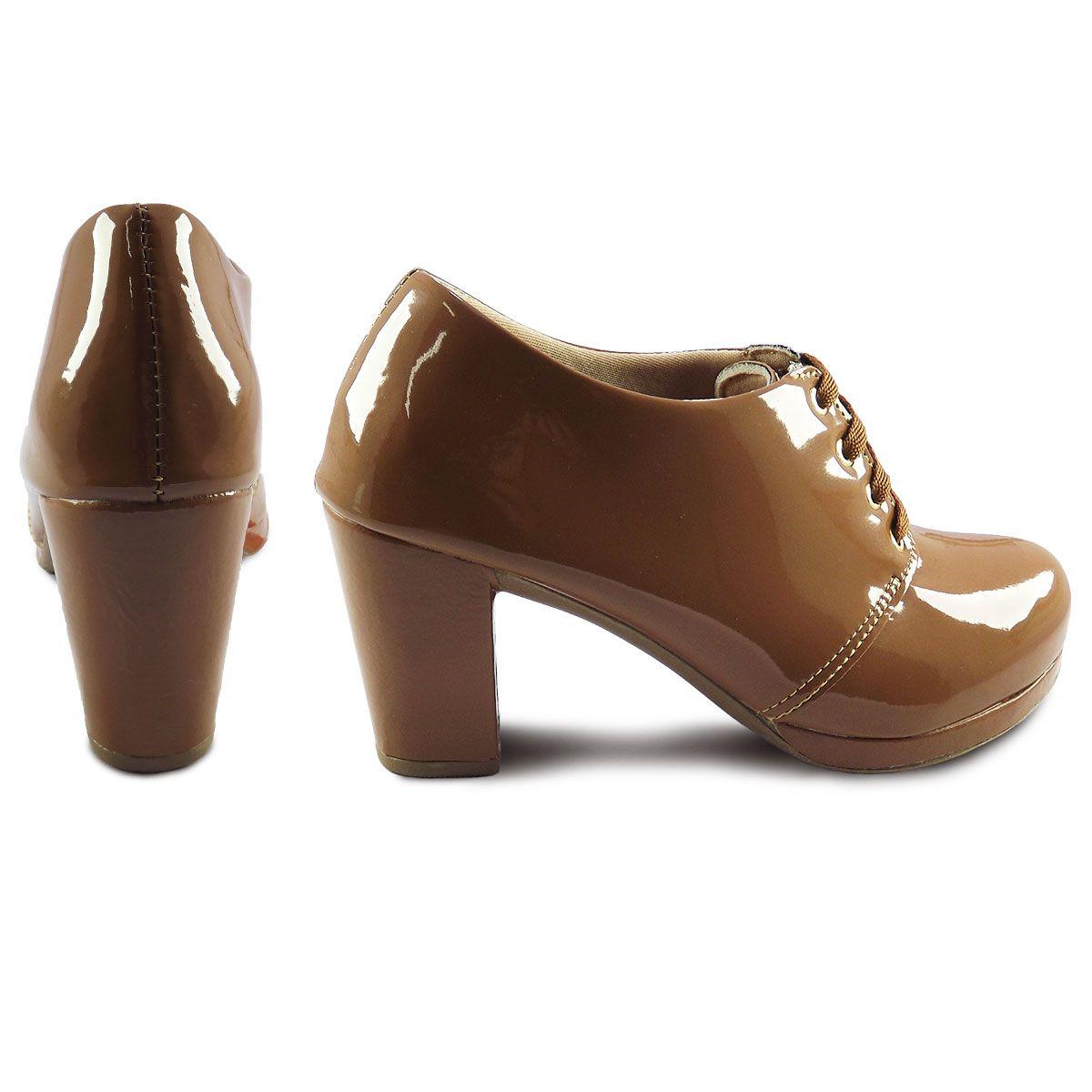 7246df529 Itra - Distribuidora de Calçados. Sapato Oxford Feminino Tratorado