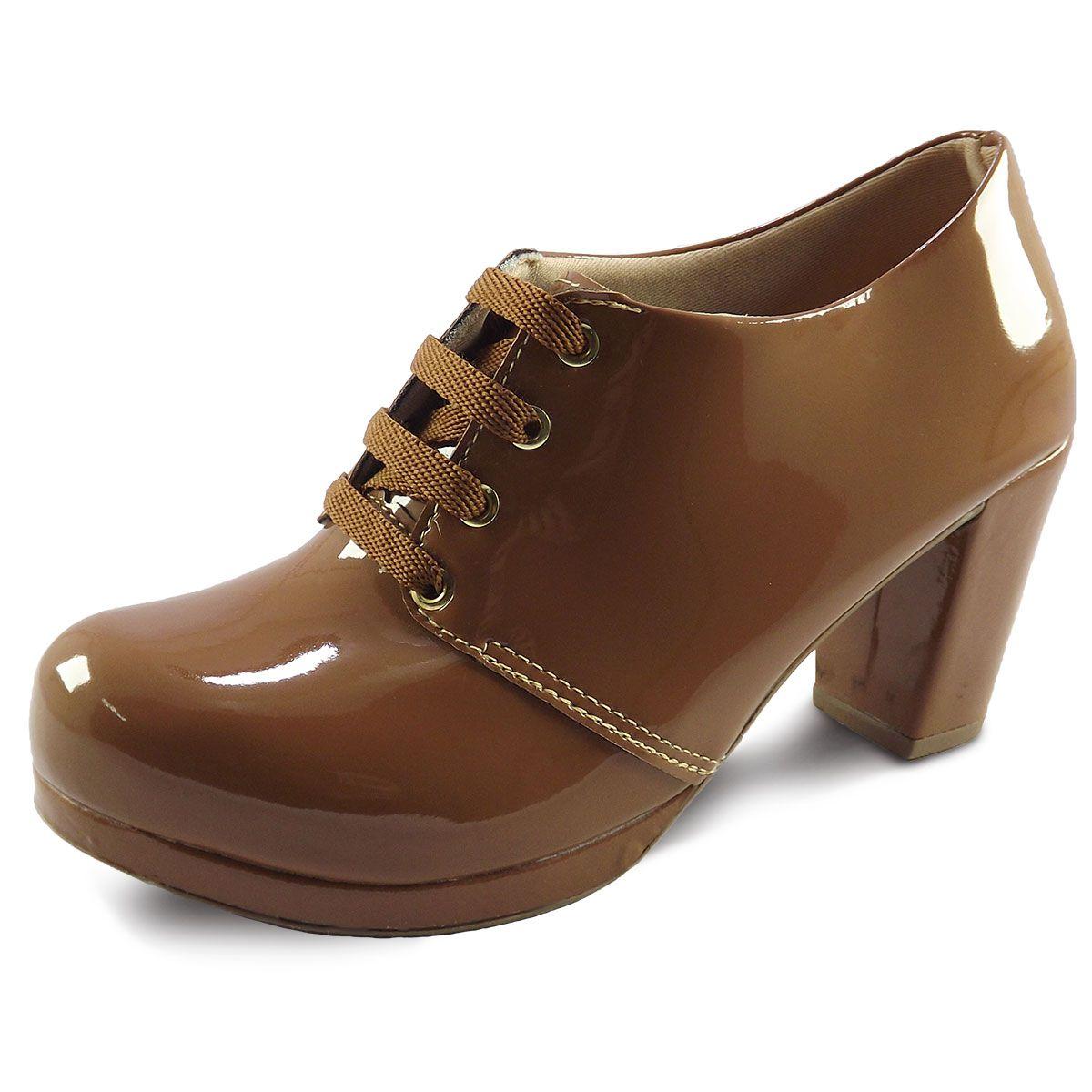 86eea057f6 Sapato Oxford Feminino Tratorado - Itra Sapato Oxford Feminino Tratorado -  Itra ...