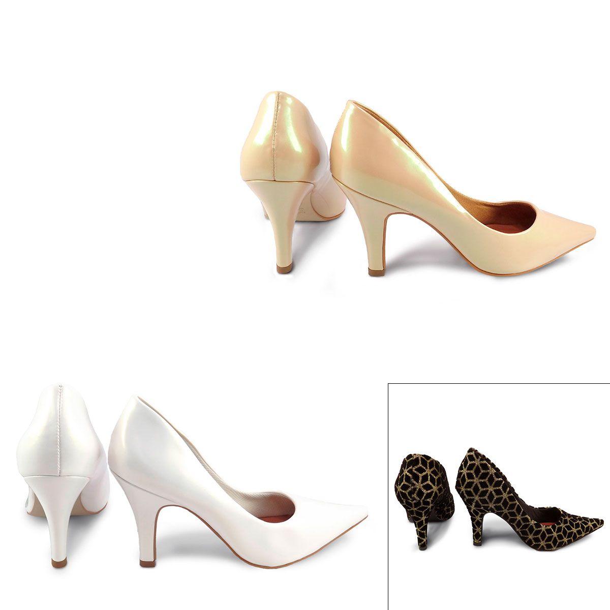 Sapato Scarpin Bico Fino