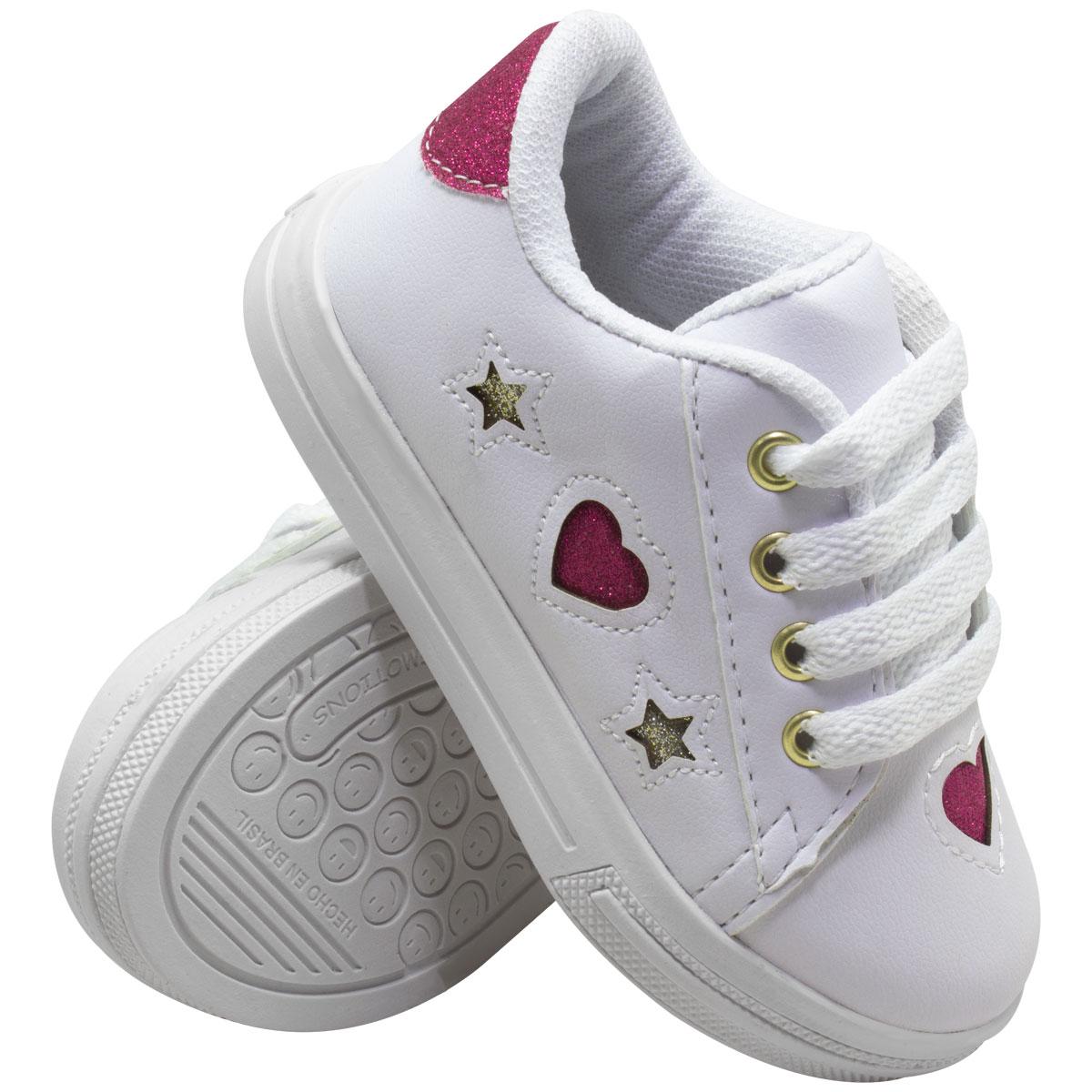 Tênis Infantil Feminino Skater 30-238-01