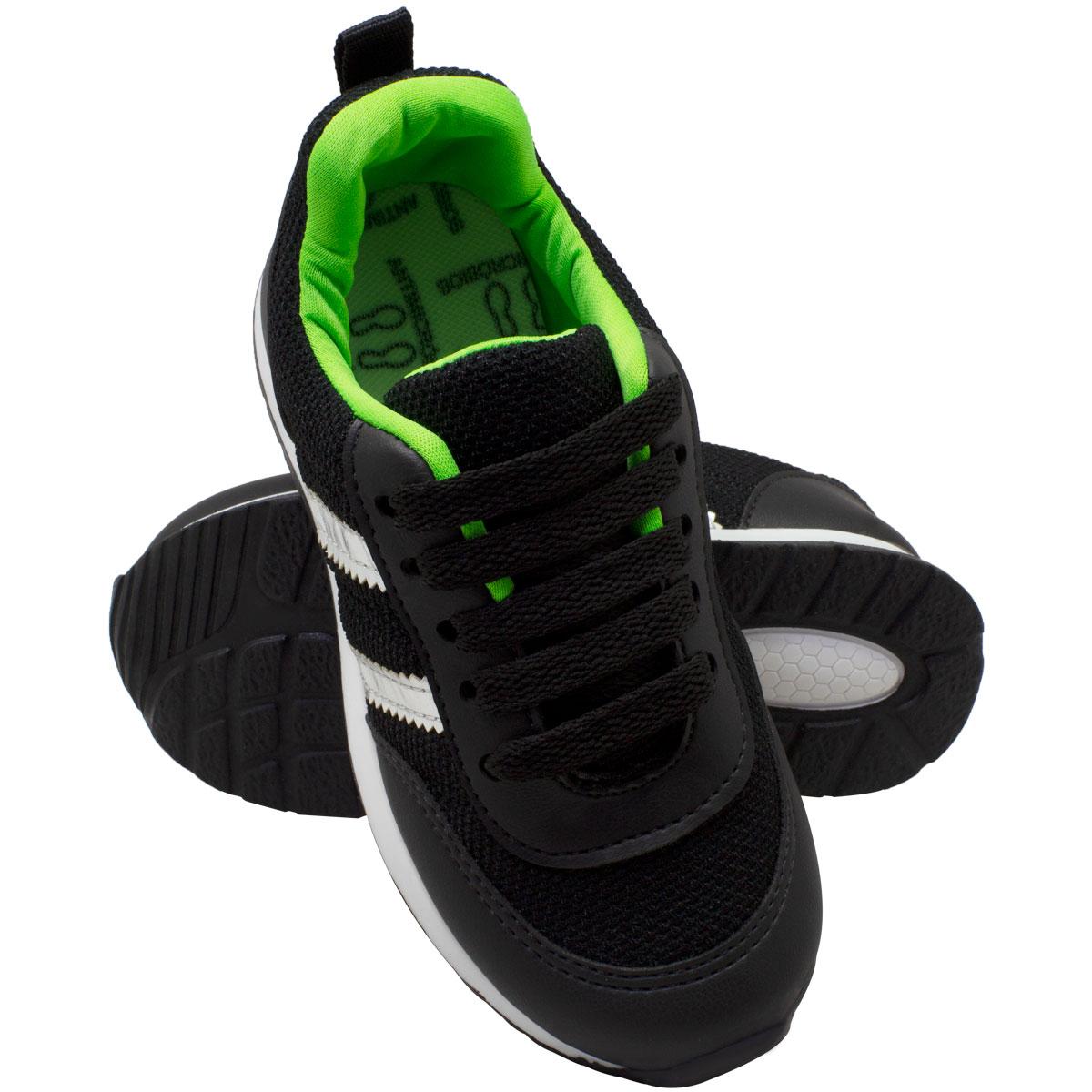Tênis infantil masculino jogging c/biqueira 152-04-32X