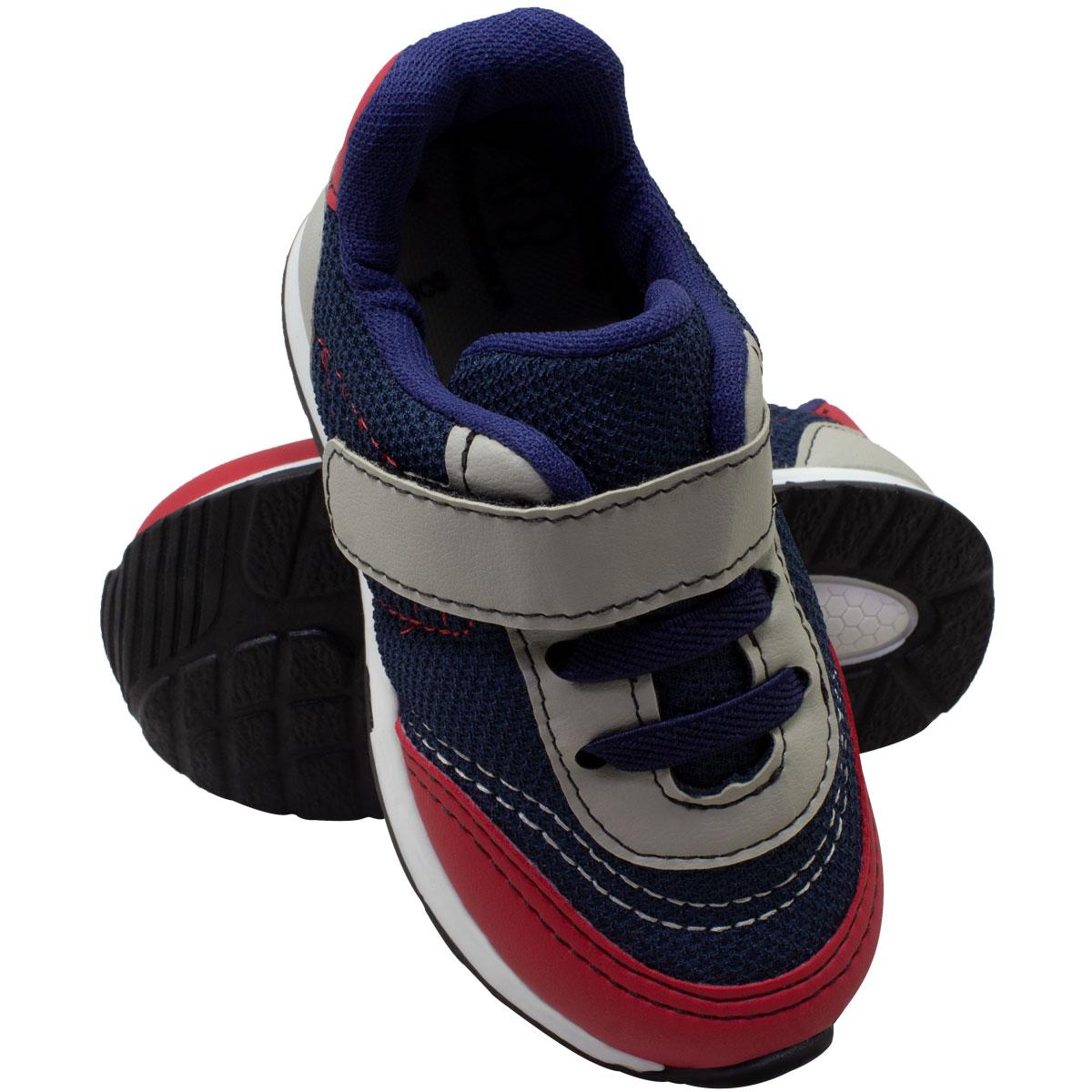 Tênis infantil masculino jogging c/biqueira 152-05-45