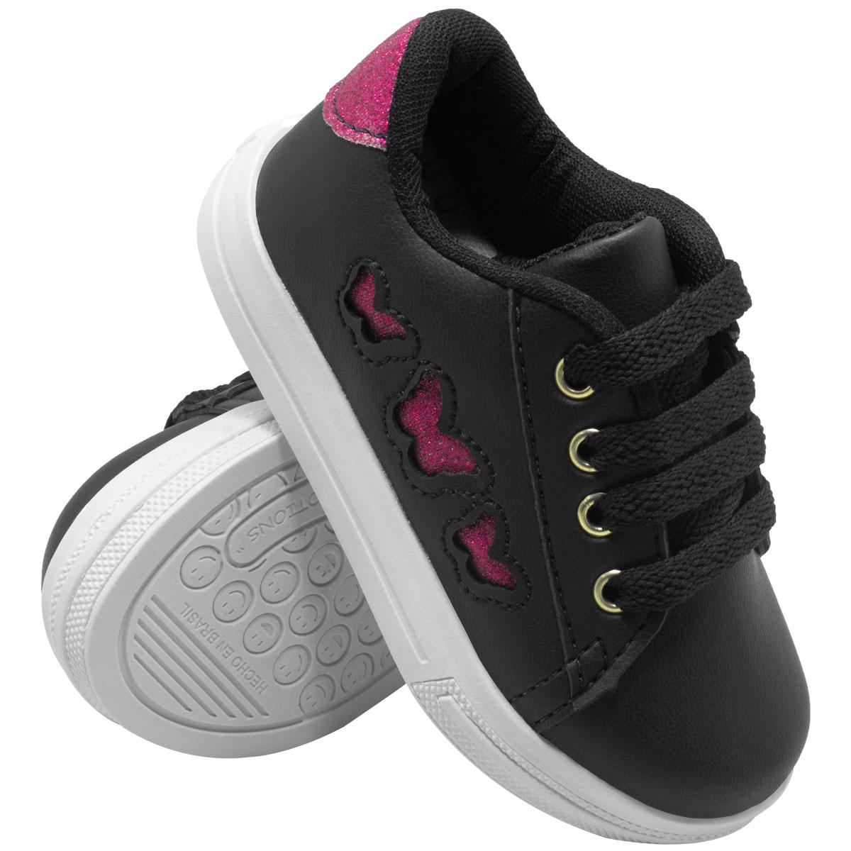 Tênis Infantil Skater Heart 302-17