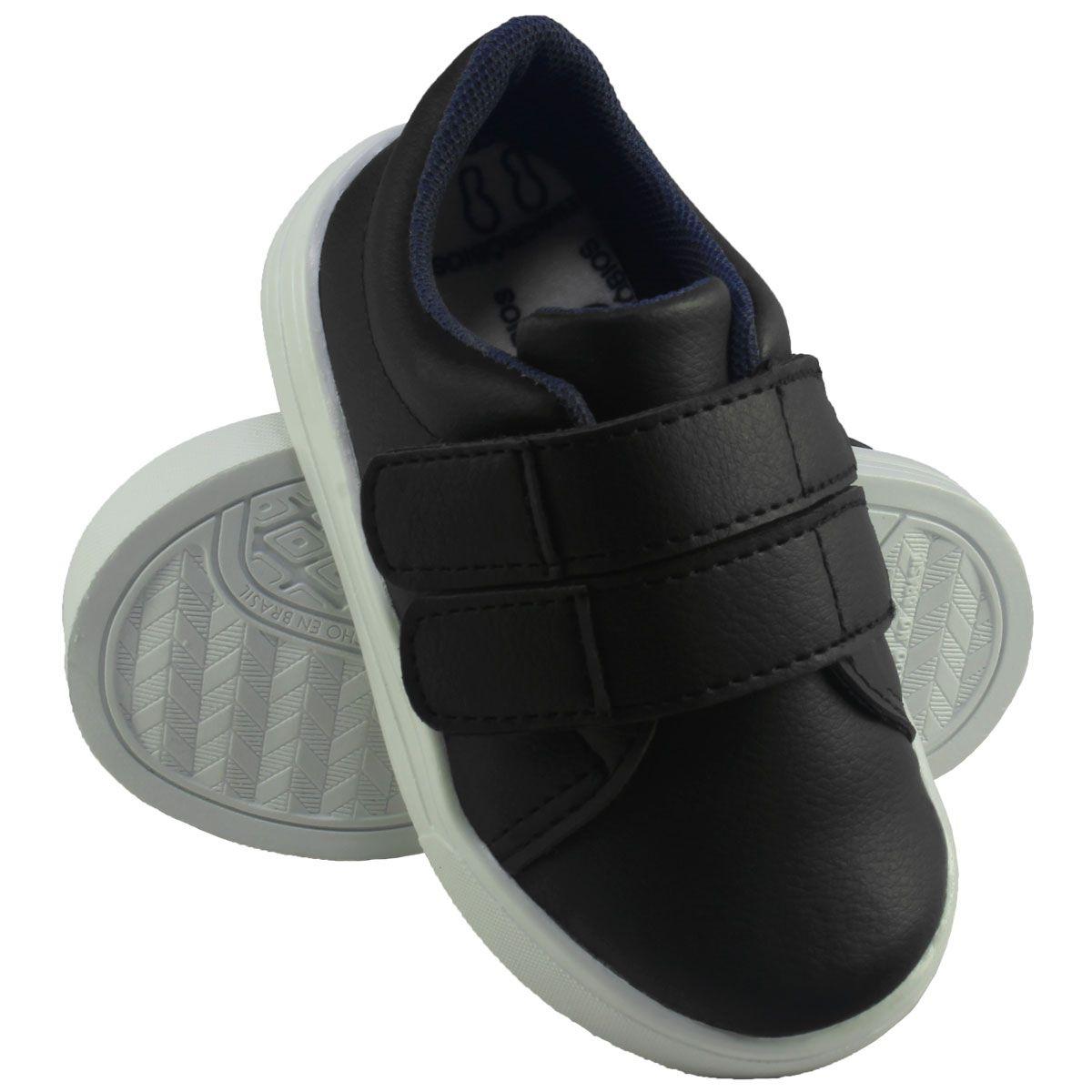 Tênis Infantil Velcro sem Cadarço