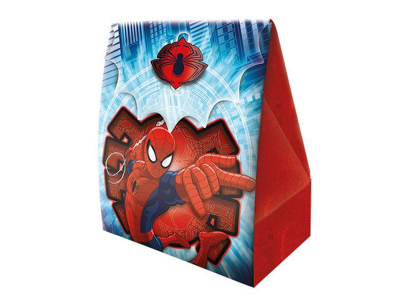 Caixa Surpresa Homem Aranha c/ 8 unid.