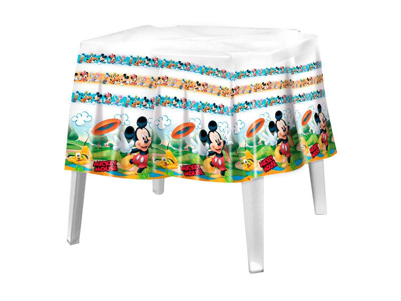 Toalha de Mesa Mickey Mouse Diversão