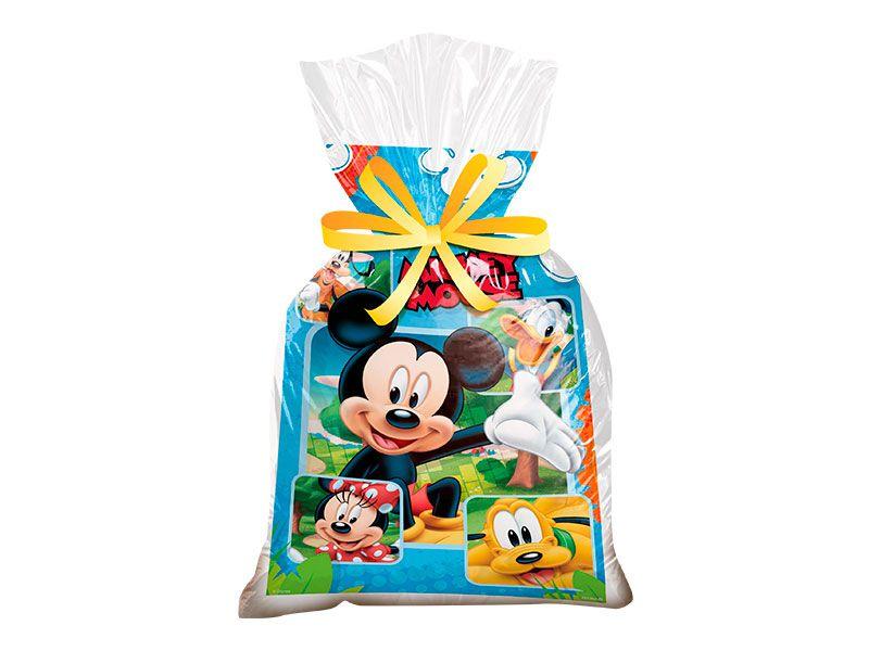 Sacola Surpresa Mickey Mouse Diversão c/ 8 unid.