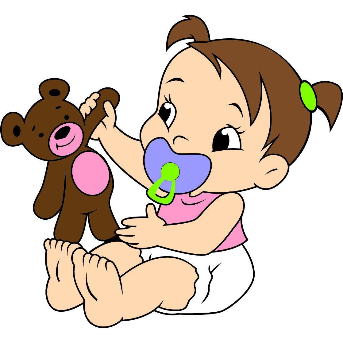Painel Bebê Menina Urso E.V.A