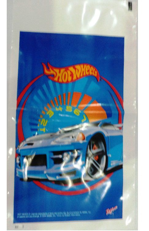 Sacola Surpresa Hot Wheels c/ 8 unid