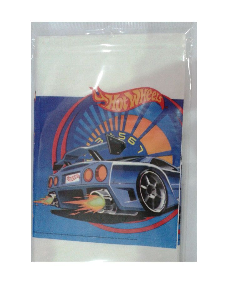 Toalha de Mesa Hot Wheels