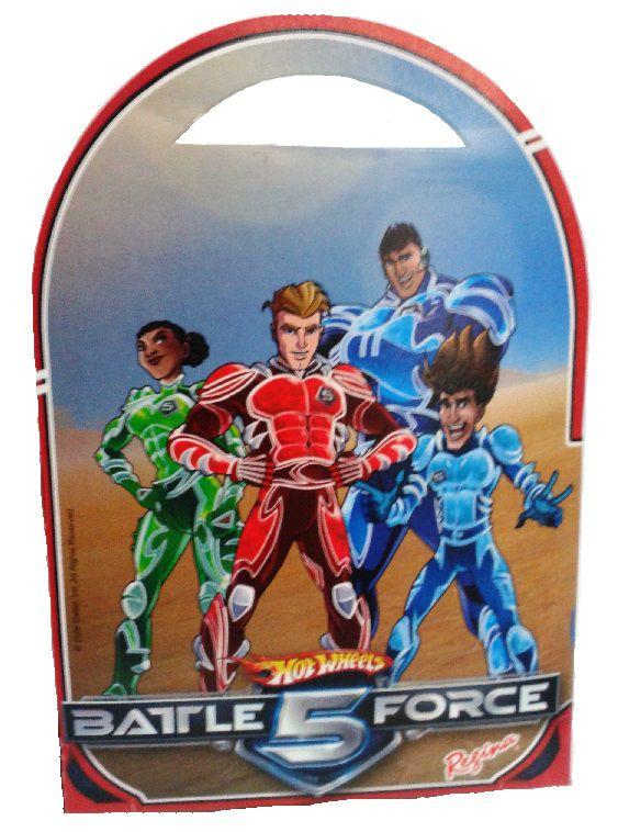 Caixa Surpresa Hot Wheel Battle Force c/ 8 unid
