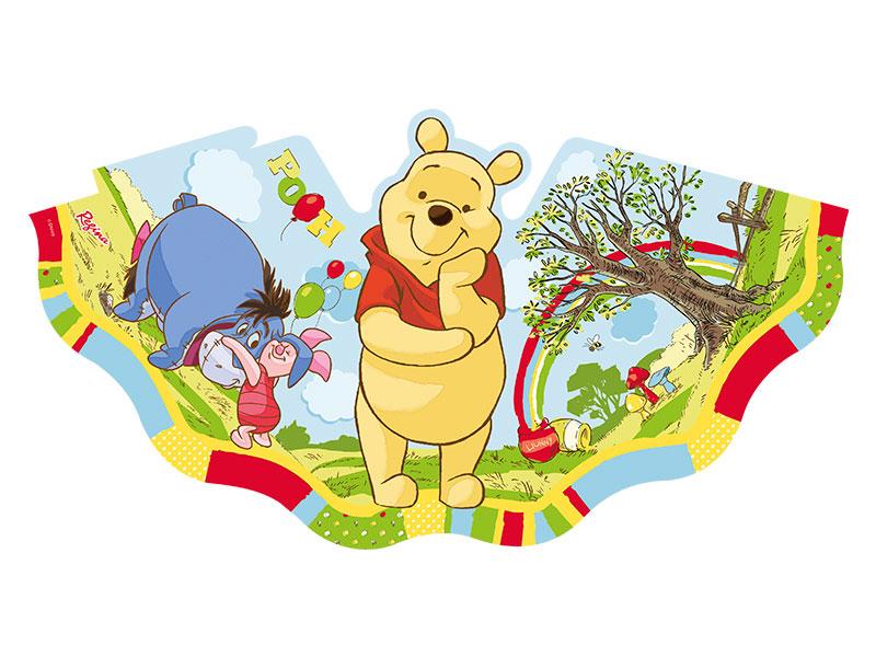 Chapéu de Aniversário Ursinho Pooh c/ 8 unid.