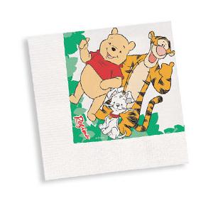 Guardanapo Ursinho Pooh c/ 16 unid.
