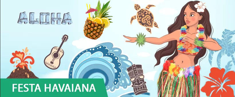 artivos para festa havaiana