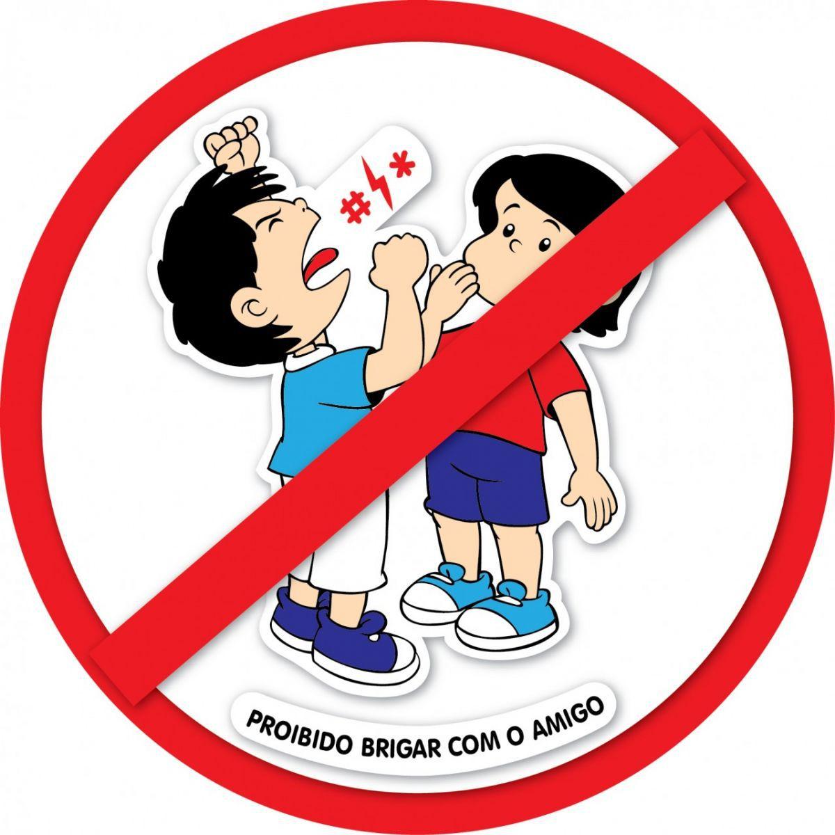Painel Proibido Brigar com o Amigo E.V.A