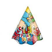 Chapéu de Aniversário Patati e Patatá Baby c/ 8 unid.
