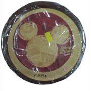 Prato Descartável Original Mickey Mouse c/ 8 unid.