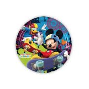 Prato Descartável Mickey Mouse Diversão c/ 8 unid.