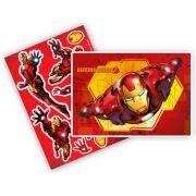 Kit Decorativo Homem de Ferro