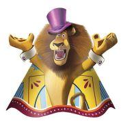 Chapéu de Aniversário Madagascar c/ 8 unid.